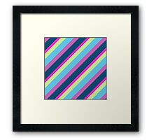 Colour Lines Framed Print
