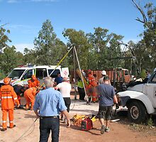 Dramatic Mine Rescue at Lightning Ridge by Opalwilderness