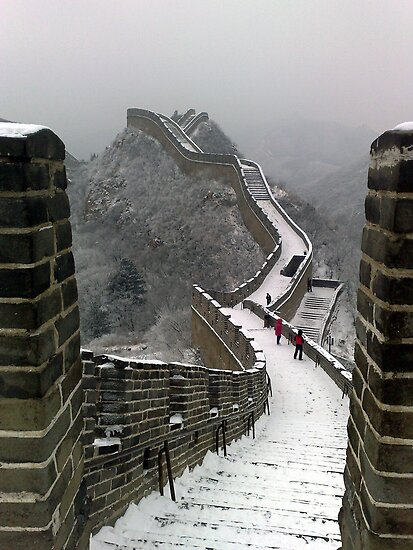 The Great Wall Of China - Beijing by soulsparkle