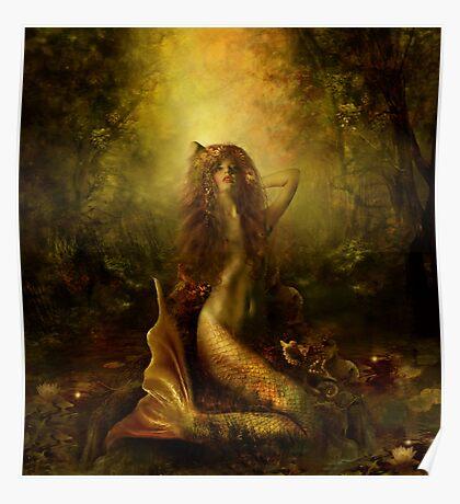 Mermaid of the lake Poster