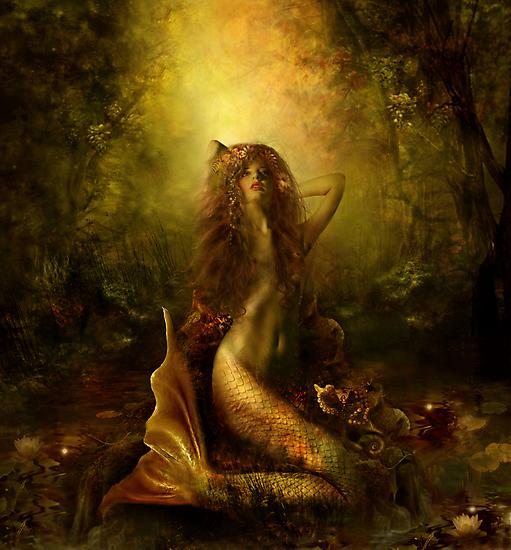 Mermaid of the lake by Lilla Márton