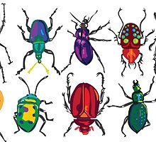Big Bright Beetle Buddies by Cori Redford
