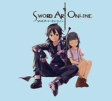 Sword Art Online Kirito and Yui by Charlottesw3b
