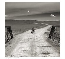 """Harley-Davidson Sportster, Chugwater, Wyoming"" by Don Bailey"
