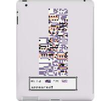 Wild MISSINGNO Appeared! iPad Case/Skin