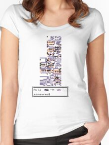 Wild MISSINGNO Appeared! Women's Fitted Scoop T-Shirt