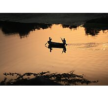 Row, row, row your boat... Photographic Print