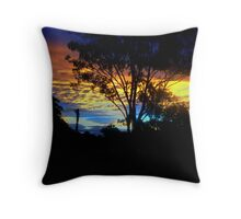 And The Rainbow Sleeps Tonight. Throw Pillow