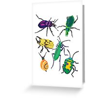 Cute as a bug Greeting Card