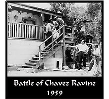 Battle of Chavez Ravine by lawrencebaird