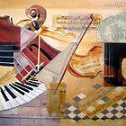 SONATA for PIANO and VIOLIN by Olga van Dijk