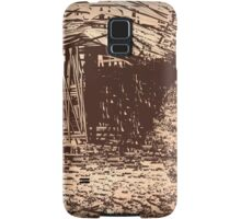 The Old Wooden Shack Samsung Galaxy Case/Skin