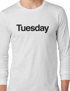 The Week - Tuesday Long Sleeve T-Shirt