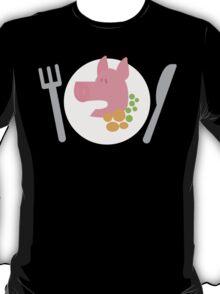 Piggy on a plate T-Shirt