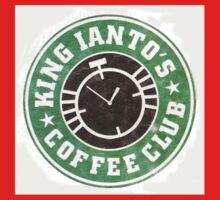 King Ianto's Coffee Club One Piece - Short Sleeve