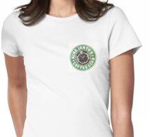 King Ianto's Coffee Club Womens Fitted T-Shirt
