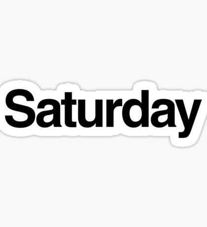 The Week - Saturday Sticker