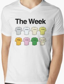 The Week Project Mens V-Neck T-Shirt