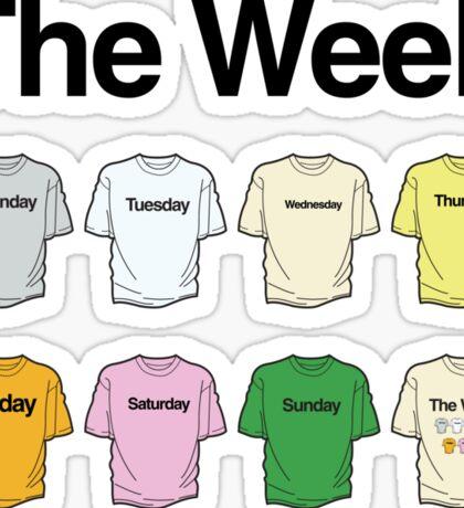 The Week Project Sticker