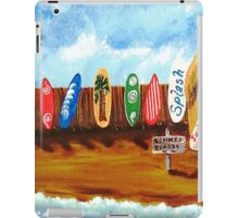 Judalees Ices RiGht on the BeAcH iPad Case/Skin