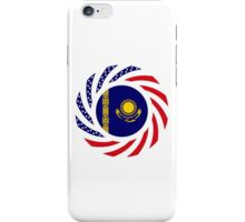 Kazakhstani American Multinational Patriot Flag Series iPhone Case/Skin