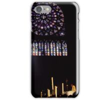 Easter Service at Notre Dame iPhone Case/Skin