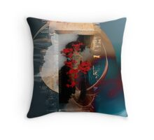 Gate of illusions Throw Pillow
