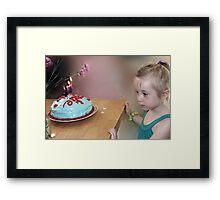 Birthday Wish Number 4 Framed Print