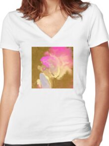 Icing the Cake Women's Fitted V-Neck T-Shirt