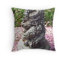 The Statue II Throw Pillow