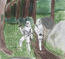 Stormtroopers on patrol  by morri
