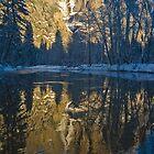 Yosemite Falls Frozen by photosbyflood