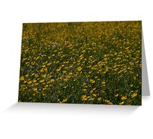 Yellow Summer Greeting Card