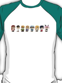 Steins gate anime characters T-Shirt