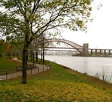 Fall on the East River by Susan Woolf