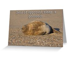 Sleep is Good! Greeting Card