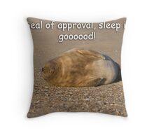 Sleep is Good! Throw Pillow