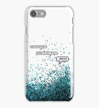 Glitter in the Air iPhone Case/Skin