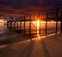 Grateful to see another sunrise - Sorrento, Mornington Peninsula by Monica Cooke