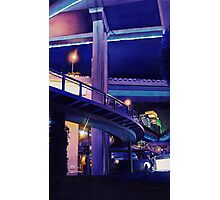 """Shanghai Skyway"" Watercolor Photographic Print"