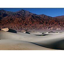 Contrasting Elements in Death Valley Photographic Print
