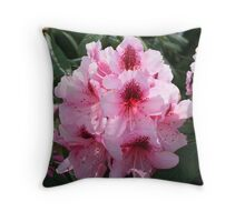 """Rhodies"" Throw Pillow"