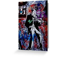 Melbourne Graffiti - Fitzroy II Greeting Card