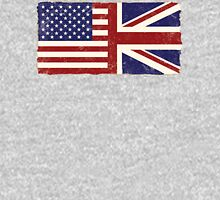 Anglo American Flag Unisex T-Shirt