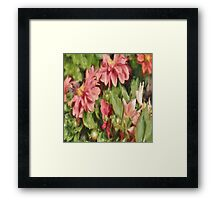 Pretty In Paint 5 Framed Print
