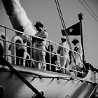 The Sailors of the Esmeralda by StefZao