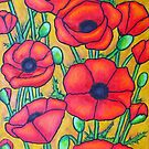 Poppies I by LisaLorenz