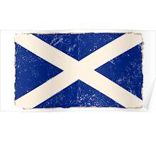 Scottish Flag Poster