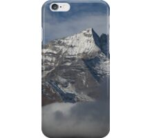 Himalayas through the Clouds iPhone Case/Skin