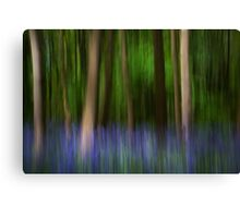 Bluebell impressionism! Canvas Print